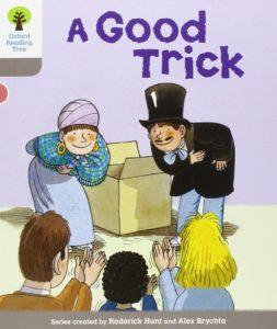 オックスフォードリーディングツリーORTレベル1-3「A Good Trick」表紙