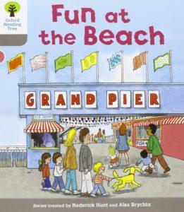 オックスフォードリーディングツリーORTレベル1-3「Fun at the Beach」表紙