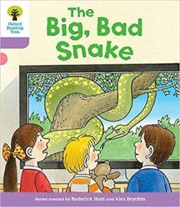 オックスフォードリーディングツリーThe Big Bad Snake表紙