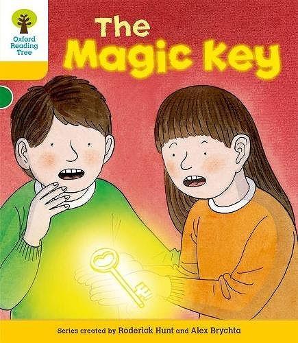 オックスフォードリーディングツリーThe Magic Key表紙