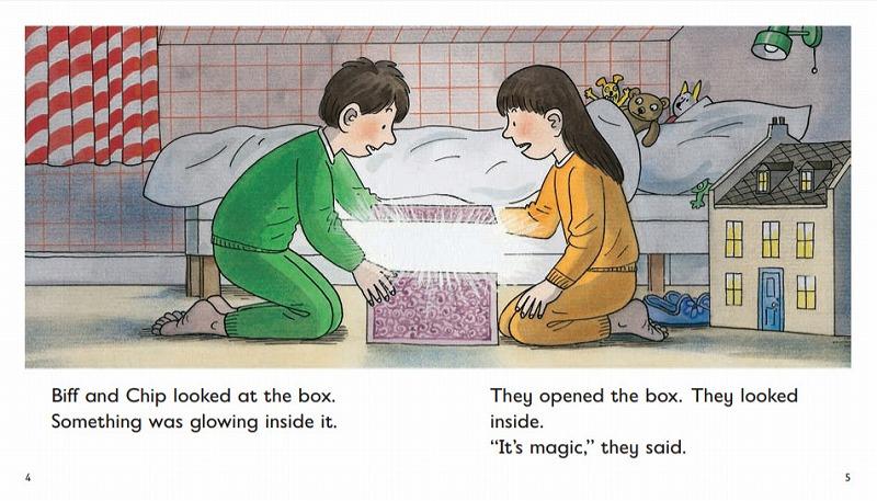 オックスフォードリーディングツリーThe Magic Key中身