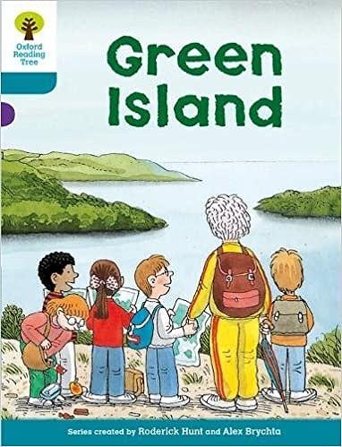 オックスフォードリーディングツリーGreen Island表紙