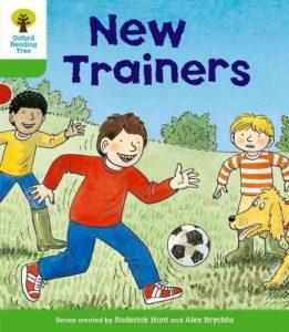 オックスフォードリーディングツリーORT レベル2 New Trainers表紙