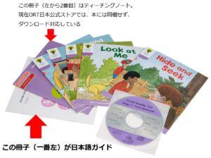 オックスフォードリーディングツリーORTのCD・日本語ガイド付きパック
