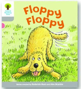 オックスフォードリーディングツリー ORT レベル1 ステージ1 stage1 First Words Floppy Floppy 表紙
