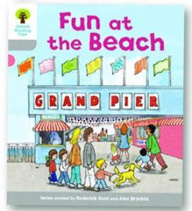 オックスフォードリーディングツリー ORT レベル1 ステージ1 stage1 First Words Fun at the Beach 表紙