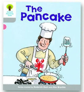 オックスフォードリーディングツリー ORT レベル1 ステージ1 stage1 First Words The Pancake 表紙