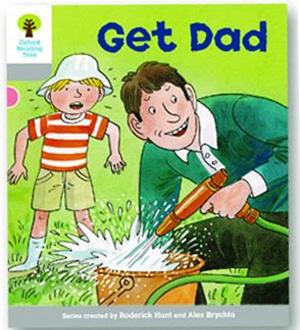 オックスフォードリーディングツリー ORT レベル1 ステージ1 stage1 More First Words Get Dad 表紙
