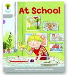 オックスフォードリーディングツリー ORT レベル1 ステージ1 stage1 Wordless Stories A At School 表紙