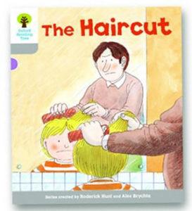 オックスフォードリーディングツリー ORT レベル1 ステージ1 stage1 Wordless Stories A The Haircut 表紙