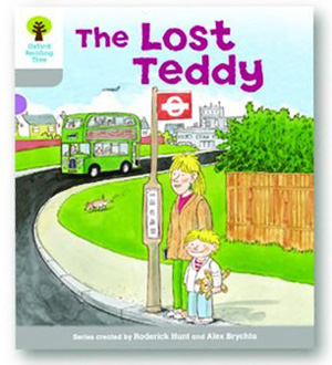 オックスフォードリーディングツリー ORT レベル1 ステージ1 stage1 Wordless Stories A The Lost Teddy 表紙