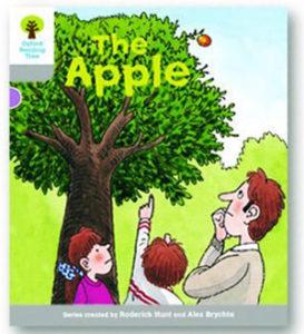 オックスフォードリーディングツリー ORT レベル1 ステージ1 stage1 Wordless Stories B The Apple 表紙