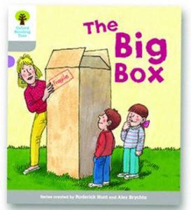 オックスフォードリーディングツリー ORT レベル1 ステージ1 stage1 Wordless Stories B The Big Box 表紙