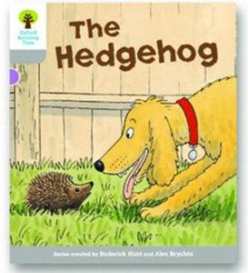 オックスフォードリーディングツリー ORT レベル1 ステージ1 stage1 Wordless Stories B The Hedgehog 表紙