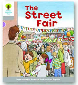 オックスフォードリーディングツリー ORT レベル1 ステージ1 stage1 Wordless Stories B The Street Fair 表紙