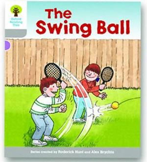 オックスフォードリーディングツリー ORT レベル1 ステージ1 stage1 Wordless Stories B The Swing Ball 表紙