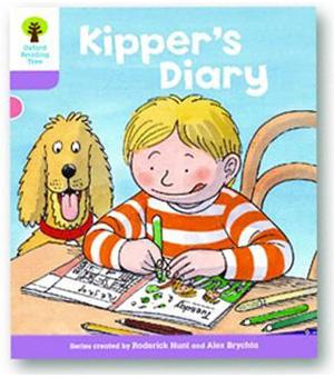 オックスフォードリーディングツリー ORT レベル1+ ステージ1+ stage1+ First Sentences Kipper's Diary 表紙