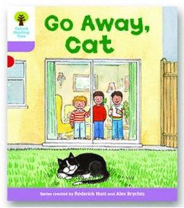 オックスフォードリーディングツリー ORT レベル1+ ステージ1+ stage1+ More First Sentences A Go Away Cat 表紙