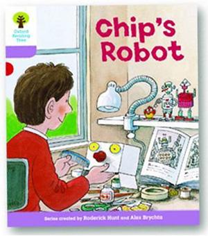 オックスフォードリーディングツリー ORT レベル1+ ステージ1+ stage1+ More First Sentences B Chips Robot 表紙