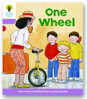オックスフォードリーディングツリー ORT レベル1+ ステージ1+ stage1+ More First Sentences B One Wheel 表紙