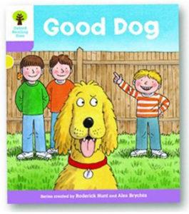 オックスフォードリーディングツリー ORT レベル1+ ステージ1+ stage1+ More First Sentences C Good Dog 表紙