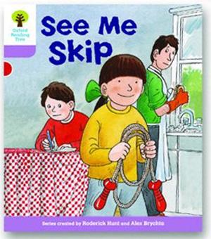 オックスフォードリーディングツリー ORT レベル1+ ステージ1+ stage1+ More First Sentences C See Me Skip 表紙