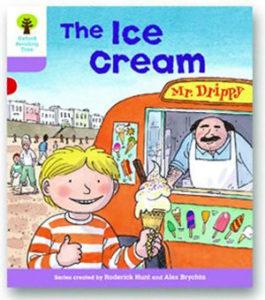 オックスフォードリーディングツリー ORT レベル1+ ステージ1+ stage1+ More First Sentences C The Ice Cream 表紙