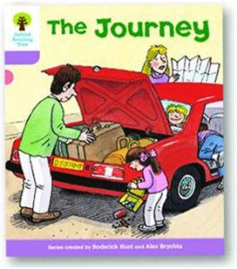 オックスフォードリーディングツリー ORT レベル1+ ステージ1+ stage1+ More Patterned Stories The Journey 表紙