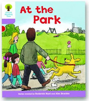 オックスフォードリーディングツリー ORT レベル1+ ステージ1+ stage1+ Patterned Stories At the Park 表紙