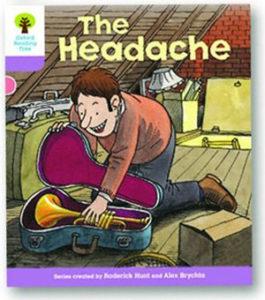 オックスフォードリーディングツリー ORT レベル1+ ステージ1+ stage1+ Patterned Stories The Headache 表紙