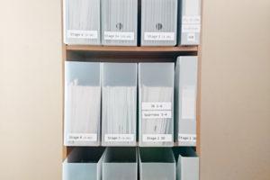 オックスフォードリーディングツリー ORT 小型絵本 薄い絵本 ファイルボックス カラーボックス 収納