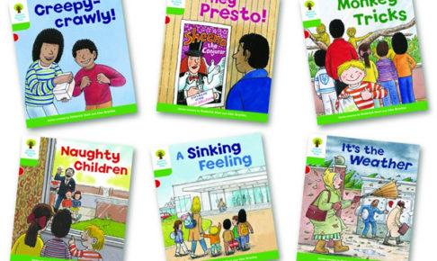 オックスフォードリーディングツリー ORT レベル2 ステージ2 stage2 Patterned Stories 表紙