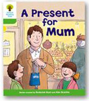 オックスフォードリーディングツリー ORT レベル2 ステージ2 stage2 First Sentences A Present for Mum 表紙