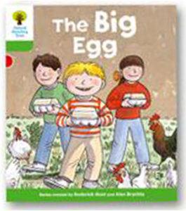 オックスフォードリーディングツリー ORT レベル2 ステージ2 stage2 First Sentences The Big Egg 表紙
