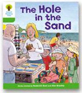 オックスフォードリーディングツリー ORT レベル2 ステージ2 stage2 First Sentences The Hole in the Sand 表紙
