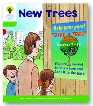 オックスフォードリーディングツリー ORT レベル2 ステージ2 stage2 More Patterned Stories New Trees 表紙
