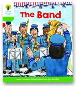 オックスフォードリーディングツリー ORT レベル2 ステージ2 stage2 More Patterned Stories The Band 表紙
