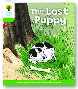 オックスフォードリーディングツリー ORT レベル2 ステージ2 stage2 More Patterned Stories The Lost Puppy 表紙