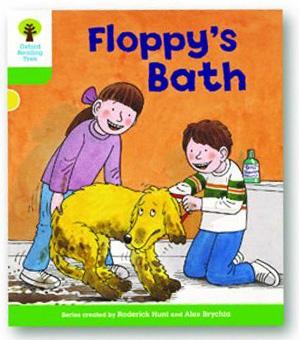 オックスフォードリーディングツリー ORT レベル2 ステージ2 stage2 More Stories A Floppy's Bath 表紙