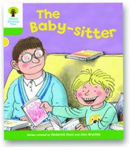 オックスフォードリーディングツリー ORT レベル2 ステージ2 stage2 More Stories A The Baby-sitter 表紙