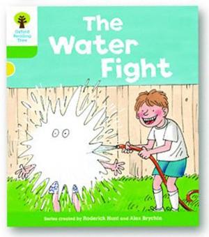 オックスフォードリーディングツリー ORT レベル2 ステージ2 stage2 More Stories A The Water Fight 表紙
