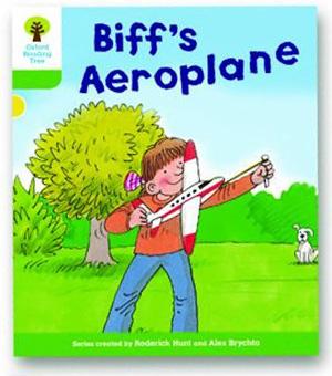オックスフォードリーディングツリー ORT レベル2 ステージ2 stage2 More Stories B Biff's Aeroplane 表紙