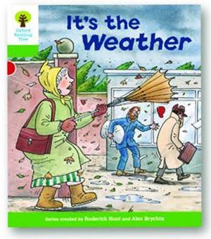 オックスフォードリーディングツリー ORT レベル2 ステージ2 stage2 Patterned Stories It's the Weather 表紙