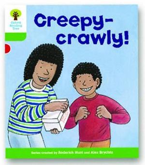 オックスフォードリーディングツリー ORT レベル2 ステージ2 stage2 Patterned Stories Creepy-crawly! 表紙