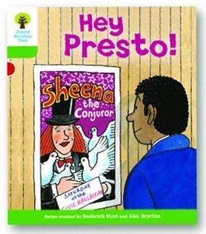 オックスフォードリーディングツリー ORT レベル2 ステージ2 stage2 Patterned Stories Hey Presto 表紙