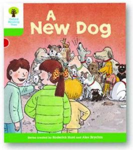 オックスフォードリーディングツリー ORT レベル2 ステージ2 stage2 Stories A New Dog 表紙
