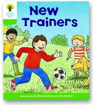 オックスフォードリーディングツリー ORT レベル2 ステージ2 stage2 Stories New Trainers 表紙