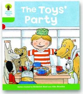 オックスフォードリーディングツリー ORT レベル2 ステージ2 stage2 Stories The Toys' Party 表紙
