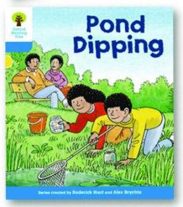 オックスフォードリーディングツリー ORT レベル3 ステージ3 stage3 First Sentences Pond Dipping 表紙