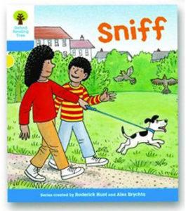 オックスフォードリーディングツリー ORT レベル3 ステージ3 stage3 First Sentences Sniff 表紙